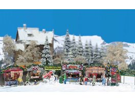 BUSCH 1059 H0 Weihnachtsmarkt