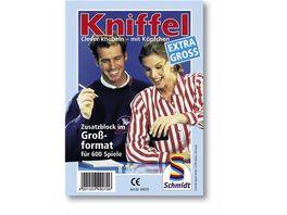 Schmidt Spiele Kniffel Grosser Kniffelblock