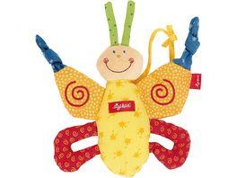 sigikid PlayQ Aktiv Schmetterling Baby Basics Groesse 17 cm