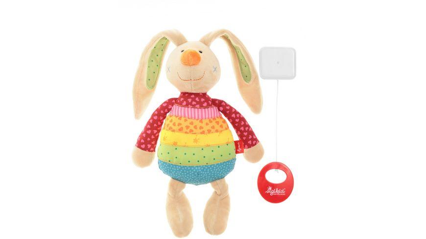 sigikid Rainbow Rabbit Spieluhr