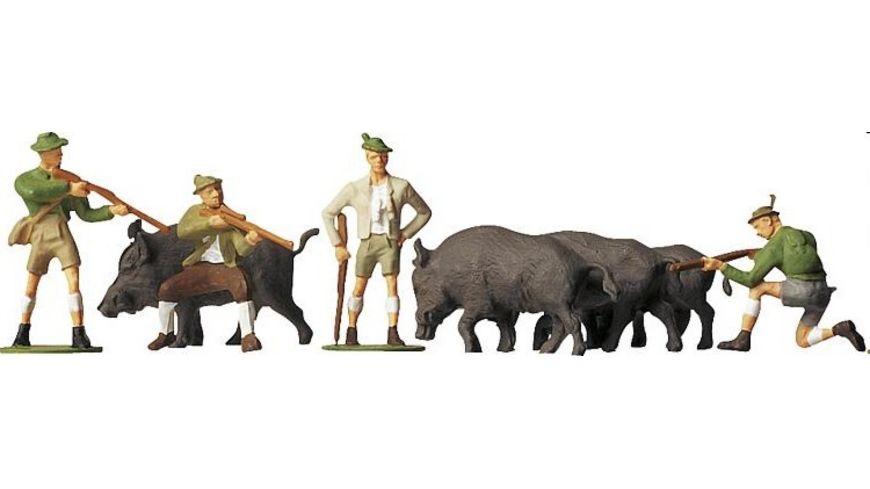 Faller 151039 H0 Figuren Auf der Jagd
