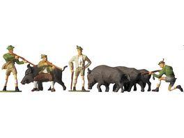 Faller H0 Figuren Auf der Jagd