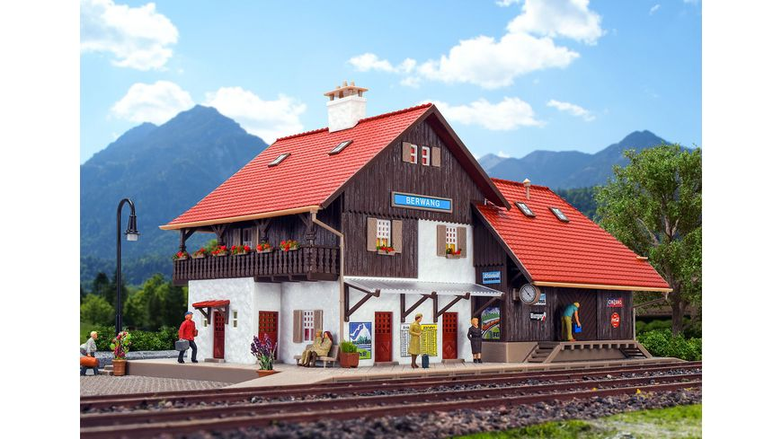 VOLLMER 9050 H0 Bahnhof Berwang