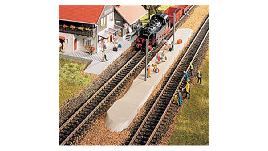 VOLLMER 9080 H0 Bahnsteig Berwang