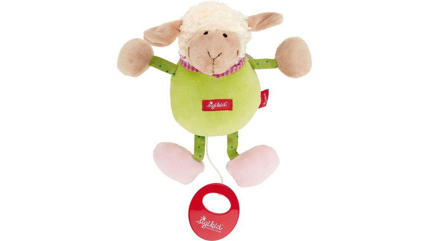 sigikid - Spieluhr Schaf, grün