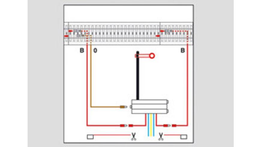 Maerklin H0 Signal Anschlussgarnitur zum C Gleis