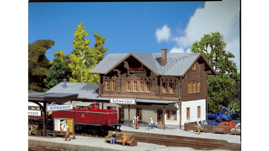 Faller N Bahnhof Schwarzach