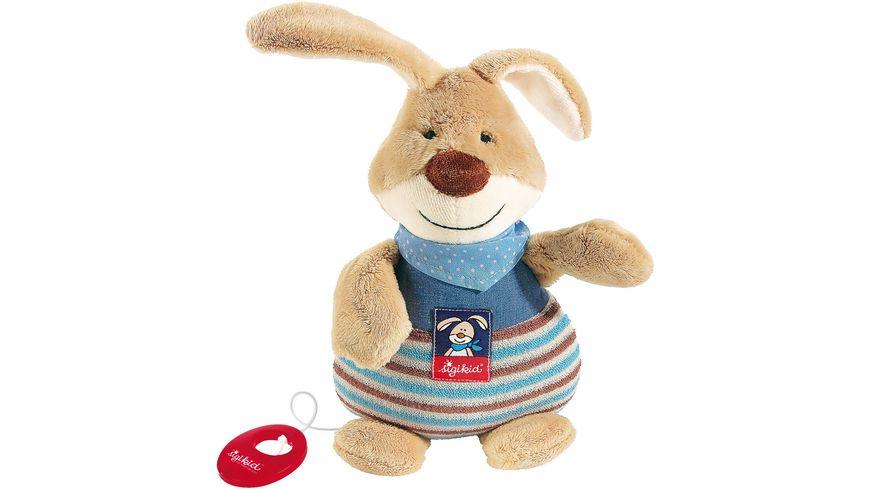 sigikid Baby Gifts Semmel Bunny Musikspieluhr klein