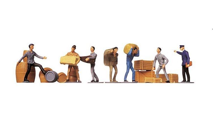 Faller 151001 H0 Figuren Transportarbeiter Ladegut