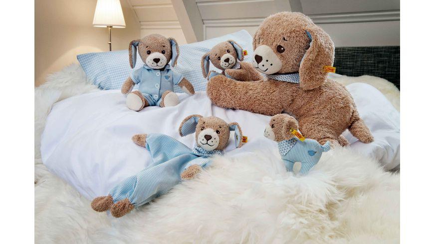 Steiff Babywelt Spielzeug Schmusetuecher Gute Nacht Hund Schmusetuch blau 30cm
