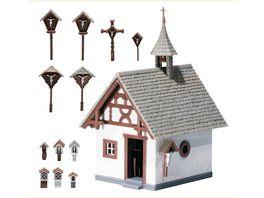 Faller 130235 H0 Kapelle mit Wegkreuz