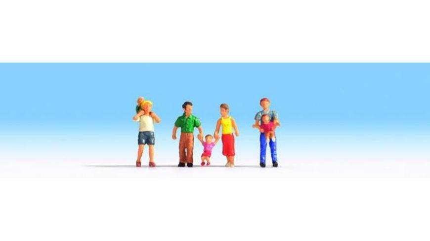 NOCH 15592 Eltern Kinder 7 Figuren