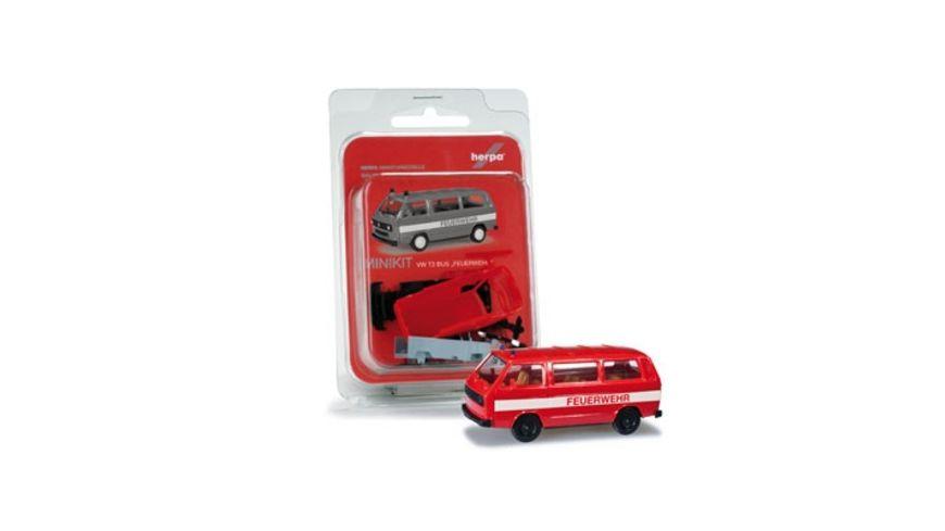 Herpa 012591 MiniKit VW T3 Bus Feuerwehr