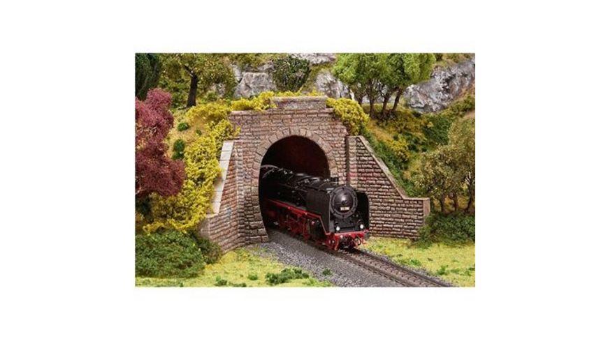 Faller H0 Tunnelportal Dampf E Lokbetrieb 2 gleisig