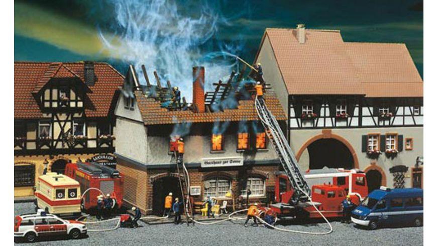 Faller H0 Brandruine Gasthaus Zur Sonne