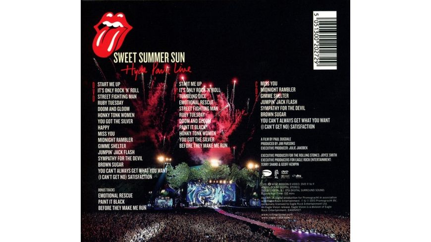 Sweet Summer Sun Hyde Park Live