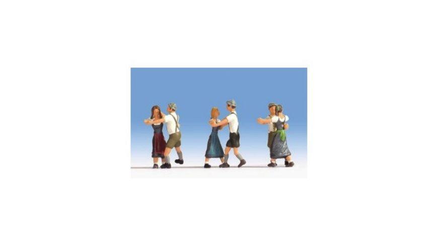 NOCH 15857 H0 FIGUREN Tanzende 6 Figuren