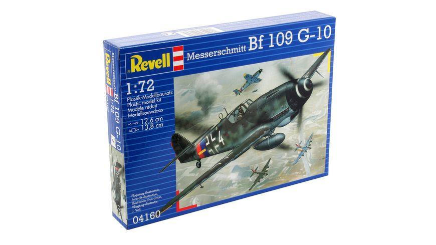 Revell 04160 Messerschmitt Bf 109 G 10
