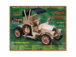 Weico 80231 Opel Doktorwagen Holzbausatz