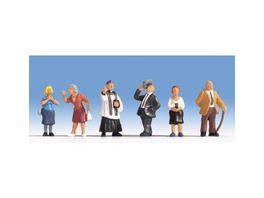 Noch Kirchgaenger 6 Figuren