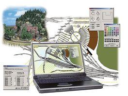 Busch 2810 Modellbahnzubehoer PC Rail fuer Windows