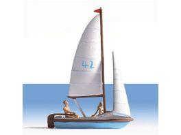 NOCH 16824 H0 Segelboot nicht schwimmfaehig