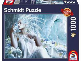 Schmidt Spiele Erwachsenenpuzzle Eisfee 1000 Teile