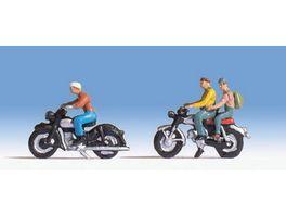 NOCH 18 H0 FIGUREN Motorradfahrer