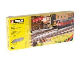 NOCH 66010 H0 Universal Bahnsteig 3 er Set Laser Cut je 27 1x8 3x1 1 cm