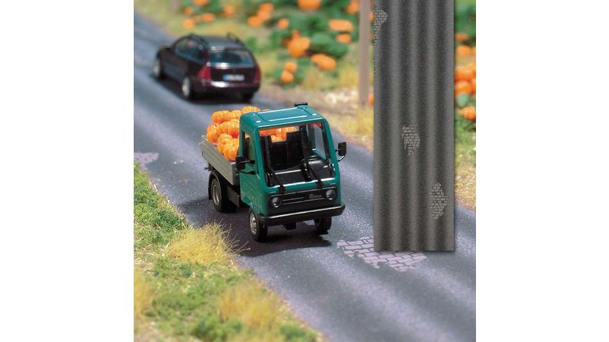Busch 1105 Modellbahnzubehoer Alte Strasse