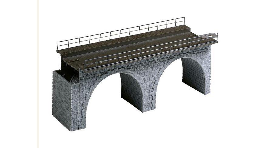 Faller 120477 H0 Viadukt Oberteil gerade