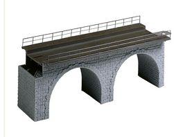 Faller H0 Viadukt Oberteil gerade