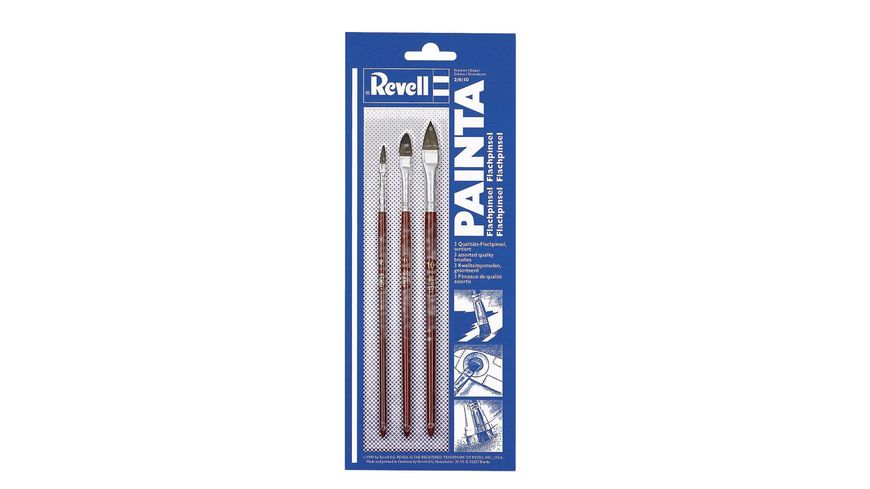 Revell 29610 Painta Flachpinsel Set
