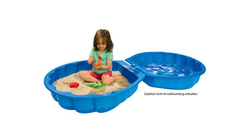 BIG Sand-/Watershell blau