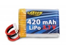 Carson Akku Mini Tyrann 3 7v 420 mah Lipo 12c