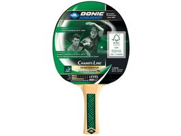 Donic Schildkroet Tischtennisschlaeger Champs Line 400 1 5 mm Schwamm Jade ITTF Belag