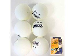 Best Tischtennis Turnierbaelle 3 Stern weiss