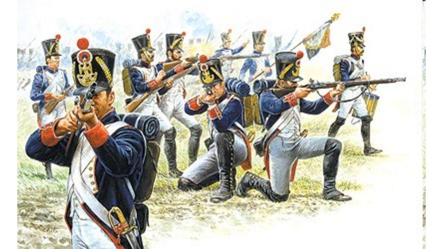 Italeri 6002 Figuren 1 72 Franzoesische Infanterie 1815