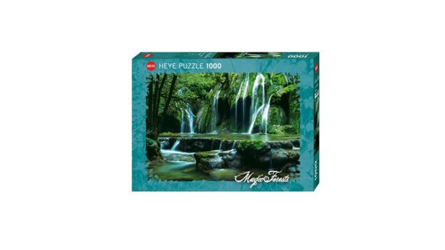 Heye Standardpuzzle 1000 Teile Magic Forests Cascades