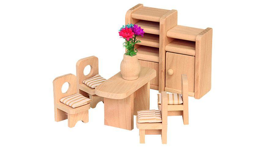 Beluga Puppenhausmoebel Esszimmer