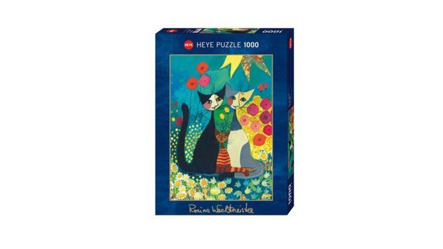 Heye Standardpuzzle 1000 Teile Flowerbed Rosina Wachtmeister
