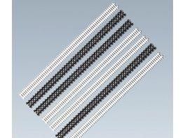 Faller H0 Zaun Sortiment Gesamtlaenge 108 cm