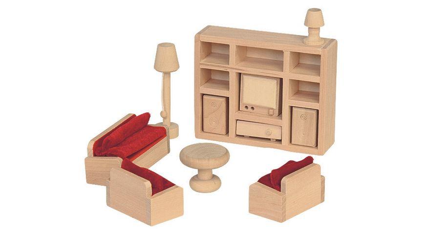 Beluga Puppenhausmoebel Wohnzimmer