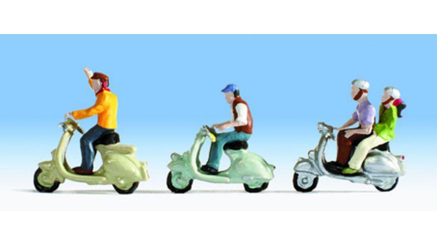 NOCH 15910 H0 FIGUREN Motorrollerfahrer