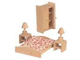 Beluga Puppenhausmoebel Schlafzimmer