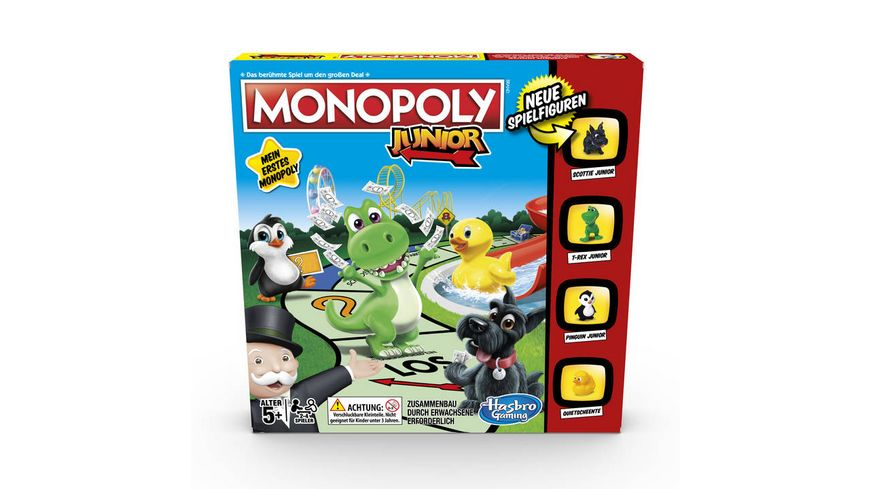 Hasbro Gaming Monopoly Junior