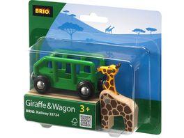 BRIO Bahn Rolling Stock Giraffenwagen