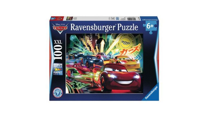 Ravensburger Puzzle Cars Neon 100 XXL Teile