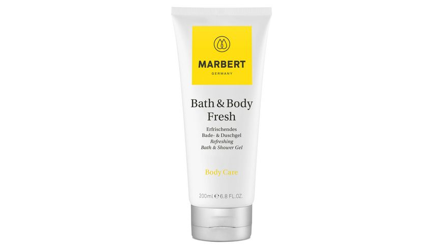 MARBERT Bath Body Fresh Refreshing Showergel