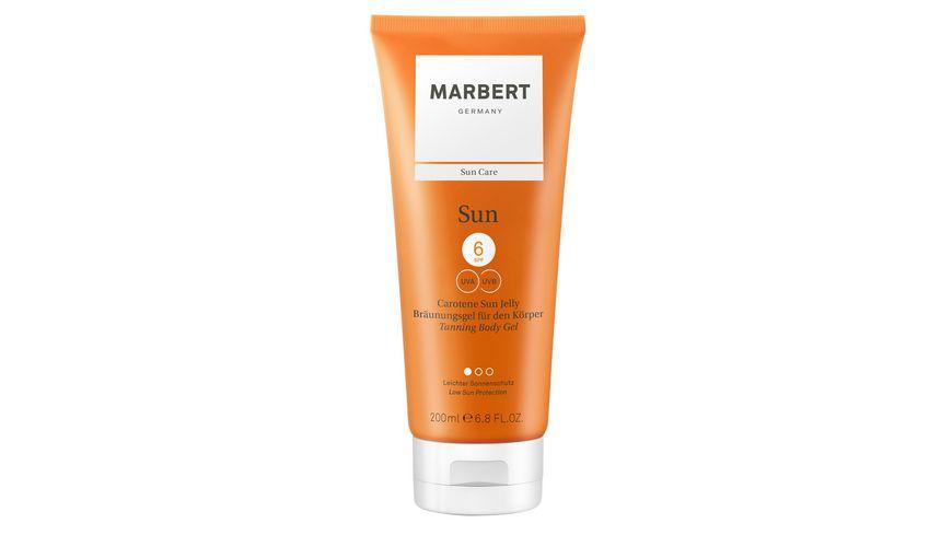 MARBERT Sun, Carotene Sun Jelly Bräunungsgel Gesicht+Körper SPF 6